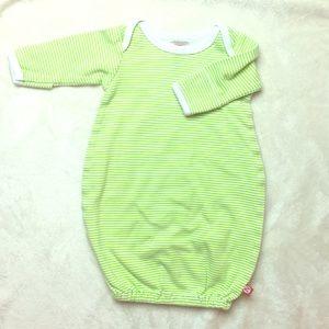 Zutano Sleep Gown (Green)